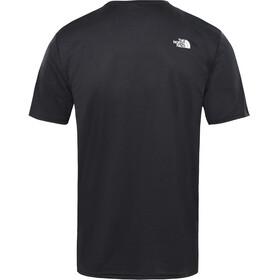 The North Face Train N Logo Flex Hardloopshirt korte mouwen Heren wit/zwart